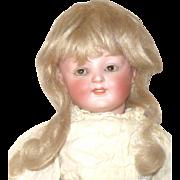 Fine 11 Inch Kestner 185 Character Girl Brown SE Original Wig Pate Body Finish  Antique ...