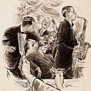 American Art - You're a Pal: 1941 Saturday Evening Post illustration Original Art