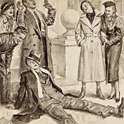 "American Art - George Brehm: ""Very Funny!"" - 1934 Saturday Evening Post Original Ill"