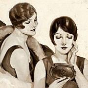 "American Art - Raymond James Stuart (1882 - ?) ""What folly to endure coarse pores"" O"