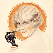 SALE American Art – Charles SHELDON: Electrical Goods, Original Advertising Art