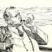 "SALE American Art - Hal Stone: ""A Single Whiff"", 1961 story illustration"