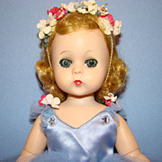 1956-57 Lissy Doll in Blue Ballerina Tutu Outfit Blond Hair Madame Alexander