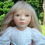 Maggie Iacono Shelby All Felt Artist Doll 17 Inch Limited Edition 14/75