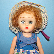 C1957 Virga Playmates 8 Inch Toddler Betsy Doll SLW Ginny Playmate