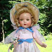 C1936 Arranbee Nancy Doll Composition 13 Inch Princess Elizabeth All Original