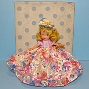 Nancy Ann Storybook Bisque Doll JL 160 Pretty Maid in Box