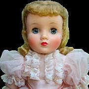 Rare 1959 Elise Pink Bride 1835 Madame Alexander 17 Inch Box Gorgeous