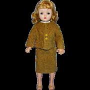 Vintage Tweed Corduroy Suit for Madame Alexander Cissy Doll 3 Piece