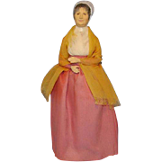 SOLD Vintage Costume Doll Elizabeth Fry 1789-1845 Quaker English Philanthropist Prison Reforme