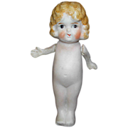 Vintage Bisque Doll Figurine Moving Arms