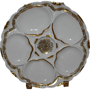 Limoges Porcelain Theodore Haviland French Oyster Plate