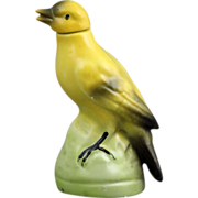 SALE German Porcelain Figural Bird Perfume Bottle