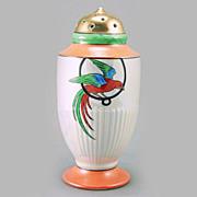 SALE Noritake Art Deco Lustre Sugar Shaker