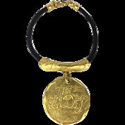 SALE Donna Karan/Robert Lee Morris Vintage Necklace.  1980's.