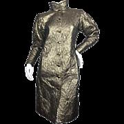 SALE Exceptional Vintage Yves Saint Laurent Evening Coat. 1970's.