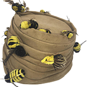 Surrealistic Bes-Ben Bee Hat. 1950's.