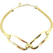 Modernist Givenchy Necklace. 1977