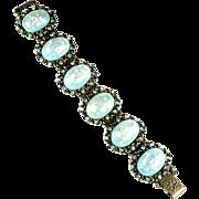 Selro Aqua Confetti Vintage Bracelet