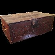 SALE 18c Bible Box / Brass Handles