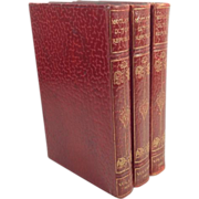 Leather Books The Rise of the Dutch Republic: A History in 3 Volumes by Lothrop ...