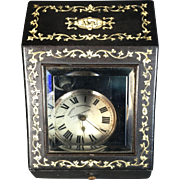 French Victorian Watch Holder Box