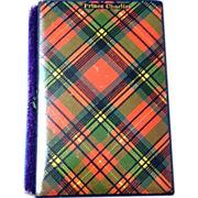 Tartan Ware Sewing Needle Book, 'Prince Charlie'