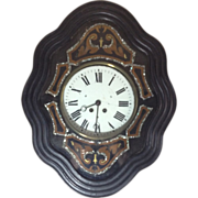 """French """"Morez"""" or Bakers Clock"""