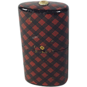 SOLD Victorian Rob Roy Tartan Ware, 'Go-To-Bed'