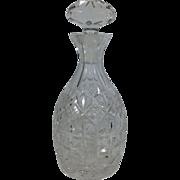 Cut Glass English Decanter