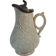 English Stoneware Jug  C. 1860