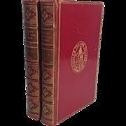 Mudie's British Birds, 2 Volumes, 1873