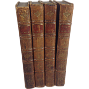 """The Rambler"" by Samuel Johnson, Complete in Four Volumes, 1763"