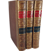 The Library Shakespeare, Illustrated by Sir John Gilbert, Three Volumes, Complete, c. 1880