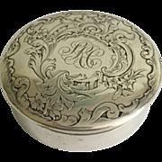 Sterling Silver English Box