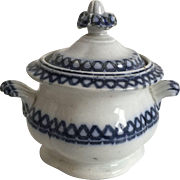 Child's 1850 English Covered Sugar Bowl