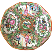 Rose Medallion Tea Plate