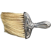 Sterling Silver  Handle Clothes Brush