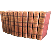 The Works of William Shakespeare with Life and Glossary, Complete in 12 cloth bound volumes ..