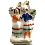 1850 Miniature English Staffordshire Figurine