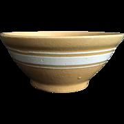 1915-1925 Yellow Ware Bowl