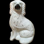 English 'Comfort-Spaniel' Staffordshire Figurine, C.1860-1880