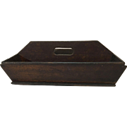 English Wooden Cutlery Carrier  C.1900