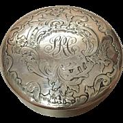 Sterling Silver Pill Box