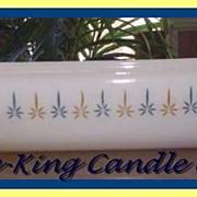 Anchor Hocking Fire King Candleglow Loaf Pan