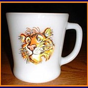 Fire King Esso Tony the Tiger Mug