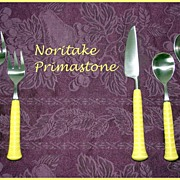 REDUCED Noritake Primastone Stainless Flatware