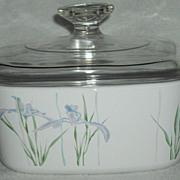 Corning Pyrex Shadow Iris Casserole 1.5 L