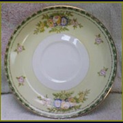 Meito China Floral Bouquet ~ Saucer Replacement