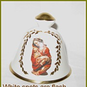 Elegant Religious Theme ~ Limited Edition Christmas Bell ~ 1976